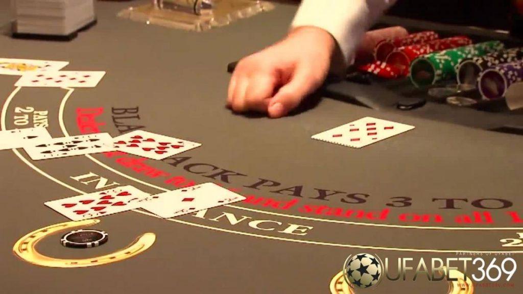 เกม Blackjack คาสิโนที่สร้างความสัมพันธ์ในวงการไพ่เป็นอย่างมาก
